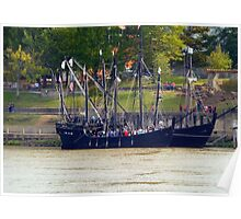 The Nina & The Pinta In Arkansas (1492....Conquest Of Paradise) Poster