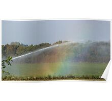Throwing Rainbows Poster