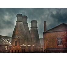 Kilns at the House of Marbles Photographic Print