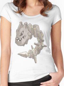 Steelix by Derek Wheatley Women's Fitted Scoop T-Shirt