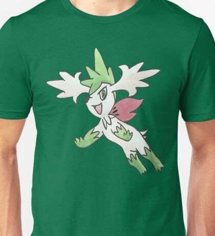 Shaymin Sky Forme by Derek Wheatley T-Shirt