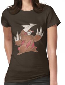 Excadrill by Derek Wheatley Womens Fitted T-Shirt
