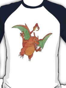 Charizard [B] by Derek Wheatley T-Shirt