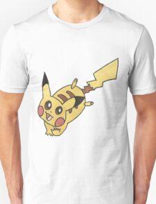 Pikachu by Derek Wheatley T-Shirt