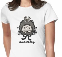 Wednesday Addams Womens Fitted T-Shirt