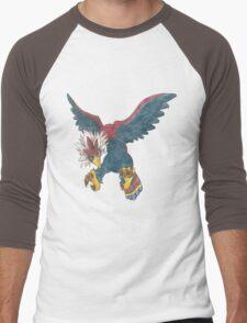 Braviary by Derek Wheatley Men's Baseball ¾ T-Shirt