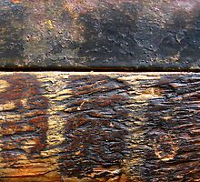 Wood and Metal Textures by Orla Cahill Photography