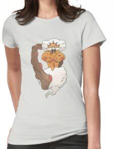 Landorus by Derek Wheatley Womens Fitted T-Shirt