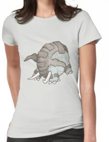 Donphan by Derek Wheatley Womens Fitted T-Shirt