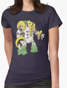 Regigigas by Derek Wheatley Womens Fitted T-Shirt