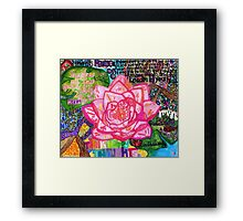 Beauty in Every Inch of Life Framed Print