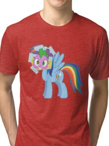 Spike as dash Tri-blend T-Shirt