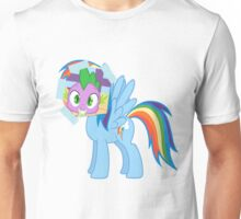 Spike as dash Unisex T-Shirt