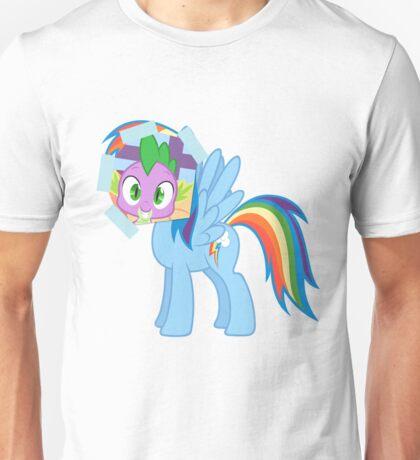 Spike as dash Unisex T-Shirt