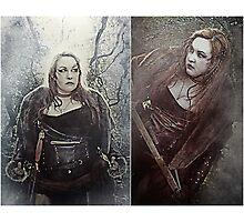 Prelandra: Viking Warrior Photographic Print