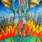 Dragon From Hell by WildestArt