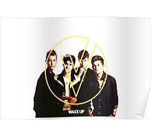 The Vamps - Wake Up Cover Album Color White Poster