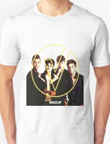 The Vamps - Wake Up Cover Album Color White T-Shirt