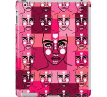 army of mystical heads iPad Case/Skin