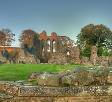 Inch Abbey  by Jon Lees