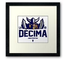 La Decima Framed Print