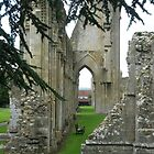 Glastonbury Abbey by lezvee