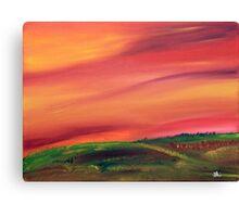 Fall in the Prairies Canvas Print