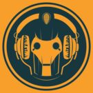 Headphonic Cyberman (Teal) by trekspanner