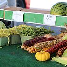 Saturday morning class - Farmer's market, Pembroke by Christina Adams