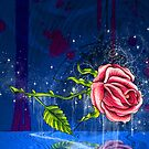 The Floating Rose by Patricia Anne McCarty-Tamayo
