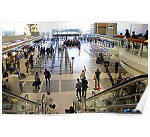 LA International Airport Film Shoot Poster