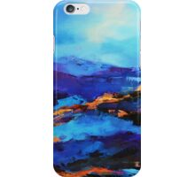 Blue shades iPhone Case/Skin