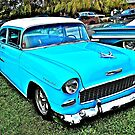 1955 Chevy Coupe - Oakland Beach - Cruise Night by Jack McCabe