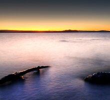 Lake Taupo's Last Light by Michael Treloar