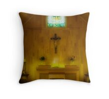 In The Chapel Throw Pillow