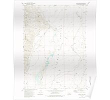 USGS Topo Map Oregon Colony Ranch 279408 1981 24000 Poster
