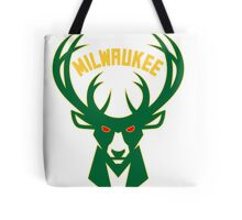 Milwaukee deer Tote Bag