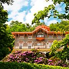 Asa Packer Mansion (1861).  Jim Thorpe, PA by Yelena Rozov