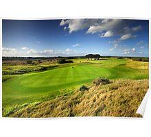 12th Hole at Barwon Heads Golf Club Poster