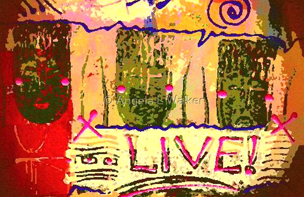 We Support LIFE by © Angela L Walker