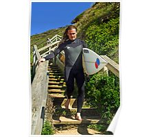 Jan Juc Surfer Poster