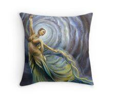 Dance of Creation Throw Pillow