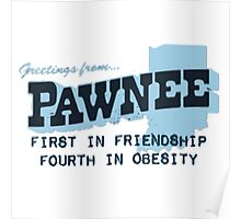 Greetings from Pawnee Poster