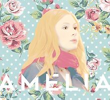 Amelia Pond by vwilderart