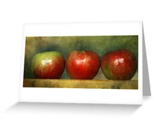 How Do You Like Them Apples Greeting Card