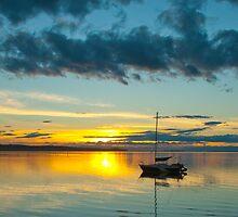 Sunset Beach by Tim Hunt