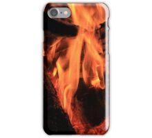 Burning Logs iPhone Case/Skin
