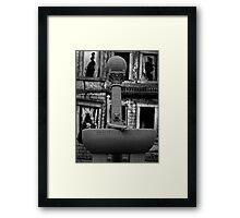 Black Stallion, self portrait Framed Print