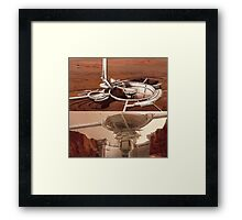 the mars mission (Mass Effect 3) Framed Print