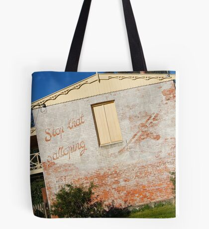 Stop that Galloping Henderson's Tote Bag